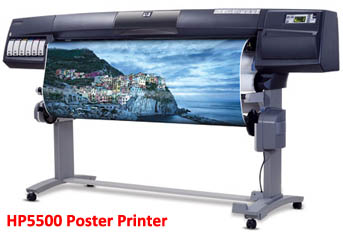HP5500 Inkjet Poster Printer